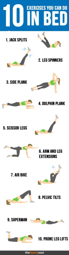 ab exercises before bed