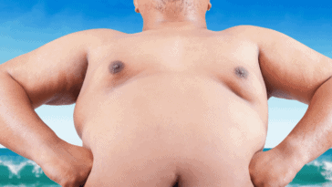 get rid of chest fat man